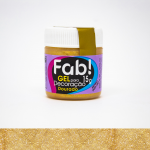gel para decoracao dourado Fab