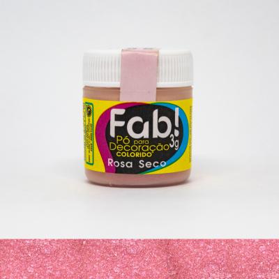 po para decoracao rosa seco Fab
