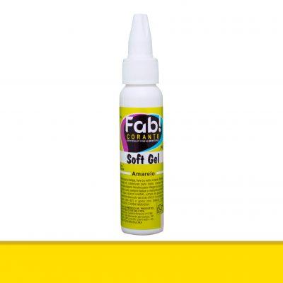 corante softgel amarelo da Fab